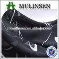 mulinsen textil de color negro de poliéster georgette guijarro africana george llanura telas