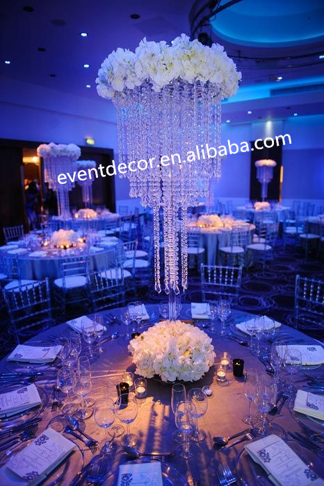 Wedding Table Decoration Wholesale Crystal Table Top