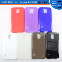 Simple and Elegant Scrub TPU Case For Samsung S5 I9600, For Galaxy S5 I9600 Scrub Soft Case