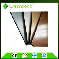 Greenbond aluminum composite panel wall cladding