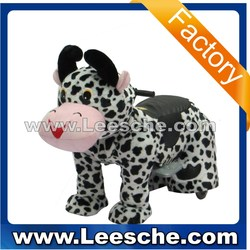 LSJQ-227 2015 new puppy battery coin operated funny dog walking animal rides for sale kiddie ride for kids