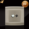 BS standard PC TV+ satellite wall socket