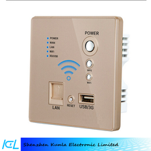 wall mount usb charger for mobilephone, easy wifi socket with RJ45, wifi transmit socket for all wifi devices