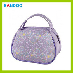 SANDOO supplier cheap nylon cosmetic bag, make up brush case for woman