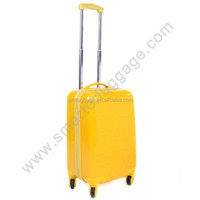 Bright color super quality travel & school suitcase with abs material