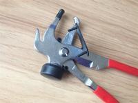 wheel weights plier, tire repair tool