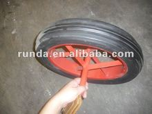 """solid rubber wheel 16""""x4.00-8"""