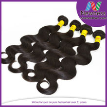 Biggest raw hair supplier in Anhui supply 100% unprocessed brazillian hair extensions