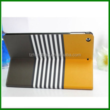 Fashion eco-friendly and shockproof leather tablet case for ipad air