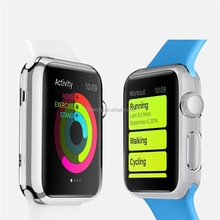 Ultra-thin Clear Hard Protective Case for Apple Watch Case 38mm 42mm