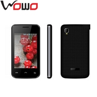 """3.5"""" small size touch screen phone E445 dual sim dual standby quad band PDA phone"""