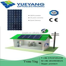100W 200W 300W Mono Solar Panel 12v