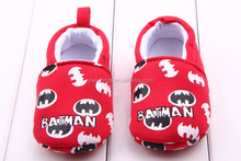 Fashion Happy Girls Soft Cotton Fabric Baby Shoes Animals Designs Baby Toddler Casual Shoes