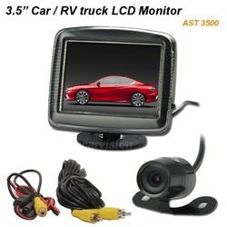 12V 3.5 inch LCD car Monitor car back-view tft lcd monitor