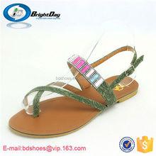 Summer shoes white black fashion platform soft sandals/fancy sandals for girls