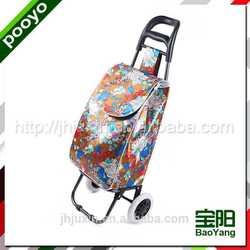 juxin portable trolley bag with wheels die-cut diecut ldpe bag