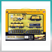 Outdoor electric mini train play set & model trains for adults