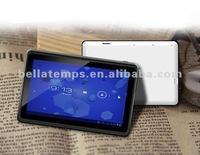 "10"" tablet pc flash player five points cap-touch allwinner a10 cortex a8 processor"