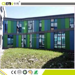 1.22x2.44m Pure Color florocarbon paint exterior wall Fiber Cement Board
