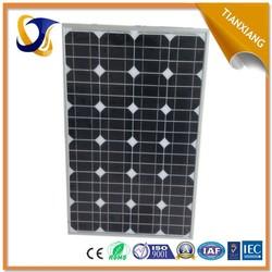 TIANXIANG Yangzhou best price 150w 12v solar panel solar