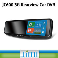 Newest Best Rearview Mirror car dvr Full HD car blackbox with GPS jc600