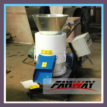 CE certificated small animal feed pellet machine