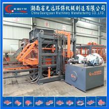 Concrete Brick Raw Material and Hydraulic Pressure Method color paver block making machine
