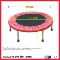 CreateFun mini 50inch trampoline with oxford cloth mat