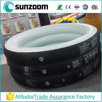 SUNZOOM portable inflatable spa,inflatable swimming spa,round outdoor spa
