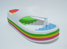 Factory direct sales colorful raised flat outsole
