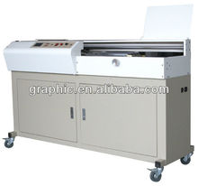 side glue cover scoring perfect binder machine