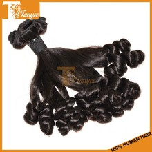 10A unprocessed virgin remy cambodian aunty funmi romance curl hair weft