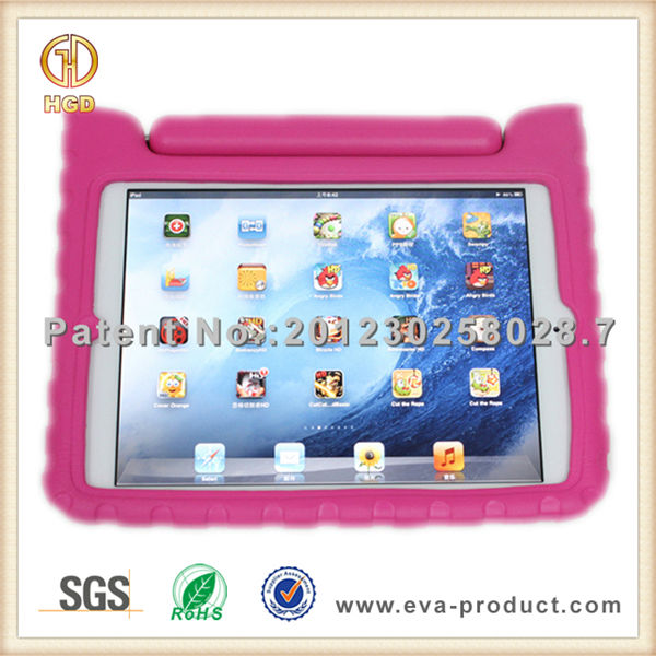 Rugged shockproof kids eva foam case for ipad mini with graphic