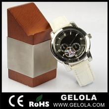 Top quality promotional hot sale automatic watch ,mechanical watch hand wind ,news tone mechanical watch