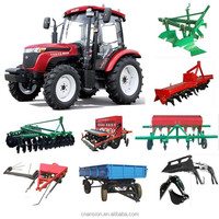 FOTON agriculture tractor europard with hydraulic steering PTO 55HP 4x4