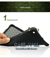 Wholesale chinese manufacturer pc+pu+silicone hard back case for Apple iPad mini