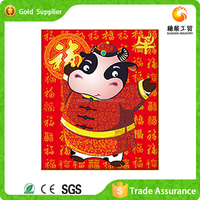 With more than 10 years manufacturer experience interesting design resin crafts diy kids cartoon embroidery painting