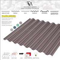 Plastic Polycarbonate Bronze Laminated Sheet (Ti-Lite Metallic Bronze series)