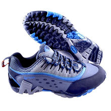 Factory Outlet Rangers New Outdoor Hiking Shoes To Help Low Breathable Slip Resistant Boots Military Physical Training Blue