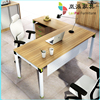 metal frame wooden desk top office table/computer chair KD-01
