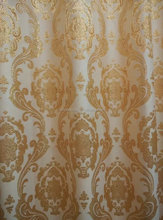fancy curtains and drapes gold silk curtain fabric silk curtain Flat small gold