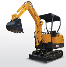 construction used mini 1.5 t moving type excavator price