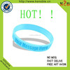 New Brand Rubber Promotion Cheap Logo Custom Debossed Silicone Wristband