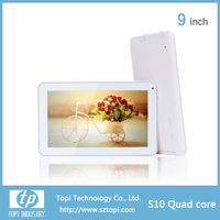 S10 9 inch Quad Core RK3126 or A33 option Capacitive screen with Dual camera