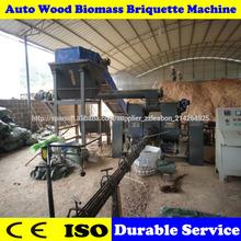 CE certificado máquinas para la fabricación de briquetas de biomasa de aserrín