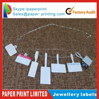 Jewellery fasson self adhesive label