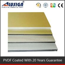 Alusign fire resistant decorative wall panel popular use acp aluminium coil weight