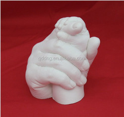 Slow set high quality dental grade chromatic alginate, hand and feet moulding (White)