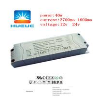 singel 40w high quality 24v 0-10v dimming power led driver ic for pannel