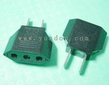 125V/ 250V 2 pin us adaptor plug yd-9618
